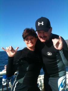Tim Cathy Snorkeling